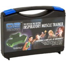 The Official Bas Rutten Inspiratory Muscle Trainer by O2 Trainer NEW  Army Green