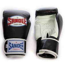 Sandee Two Tone Gloves - Black/White