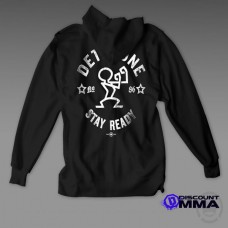 Dethrone Conor McGregor Stay Ready Hoodie Black