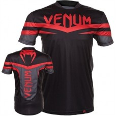 Venum Sharp Dry Tech T-Shirt Black/Red