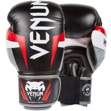 Venum Elite Adult Boxing Gloves Black