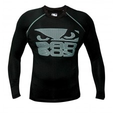 Bad Boy  Rash Guard Black L/S