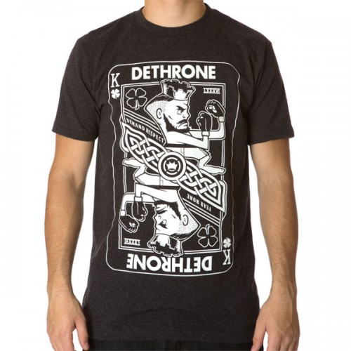 Dethrone Conor McGregor Official Walkout White T-Shirt