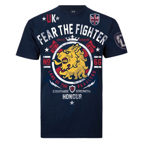 Fear the Fighter World Bloodline UK T Shirt